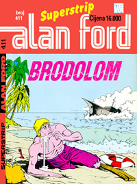 Alan Ford br.411