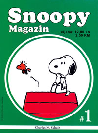 Snoopy Magazin br.01